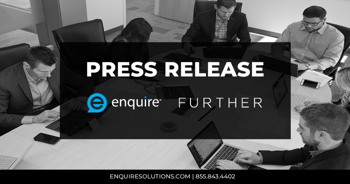 Enquire and Further Announce New Partnership